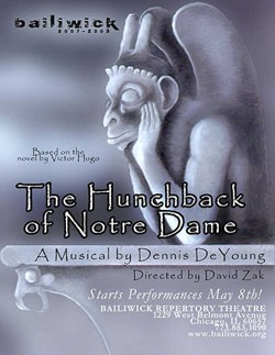 Hunchback Of Notre Dame at Bailiwick Repertory Theatre Chicago